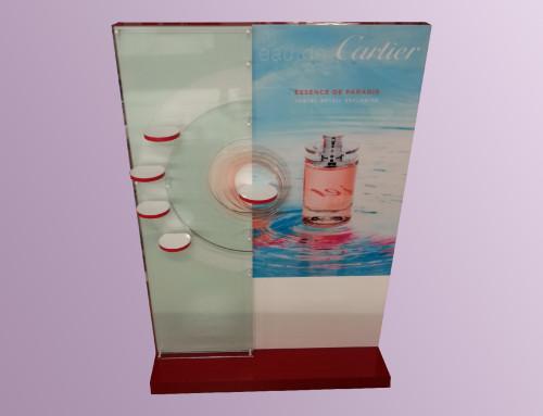 Présentoir Parfumeur Cartier